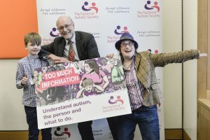 Alex helps launch campaign to better understand autism