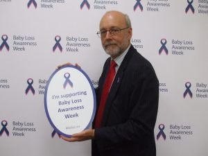 Alex Cunningham MP supports Baby Loss Awareness Week