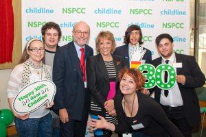 Alex celebrates 30 years of Childline