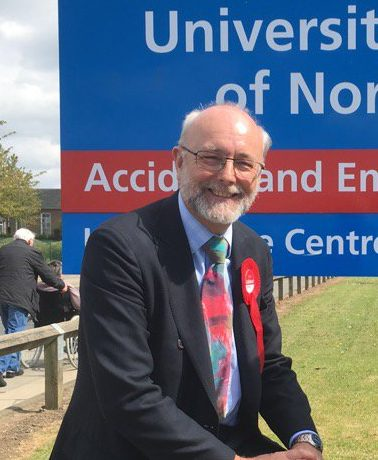 Alex uses Queen's Speech debate to raise threat to North Tees Hospital A&E