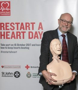 Teach compulsory CPR education in schools, urges Alex
