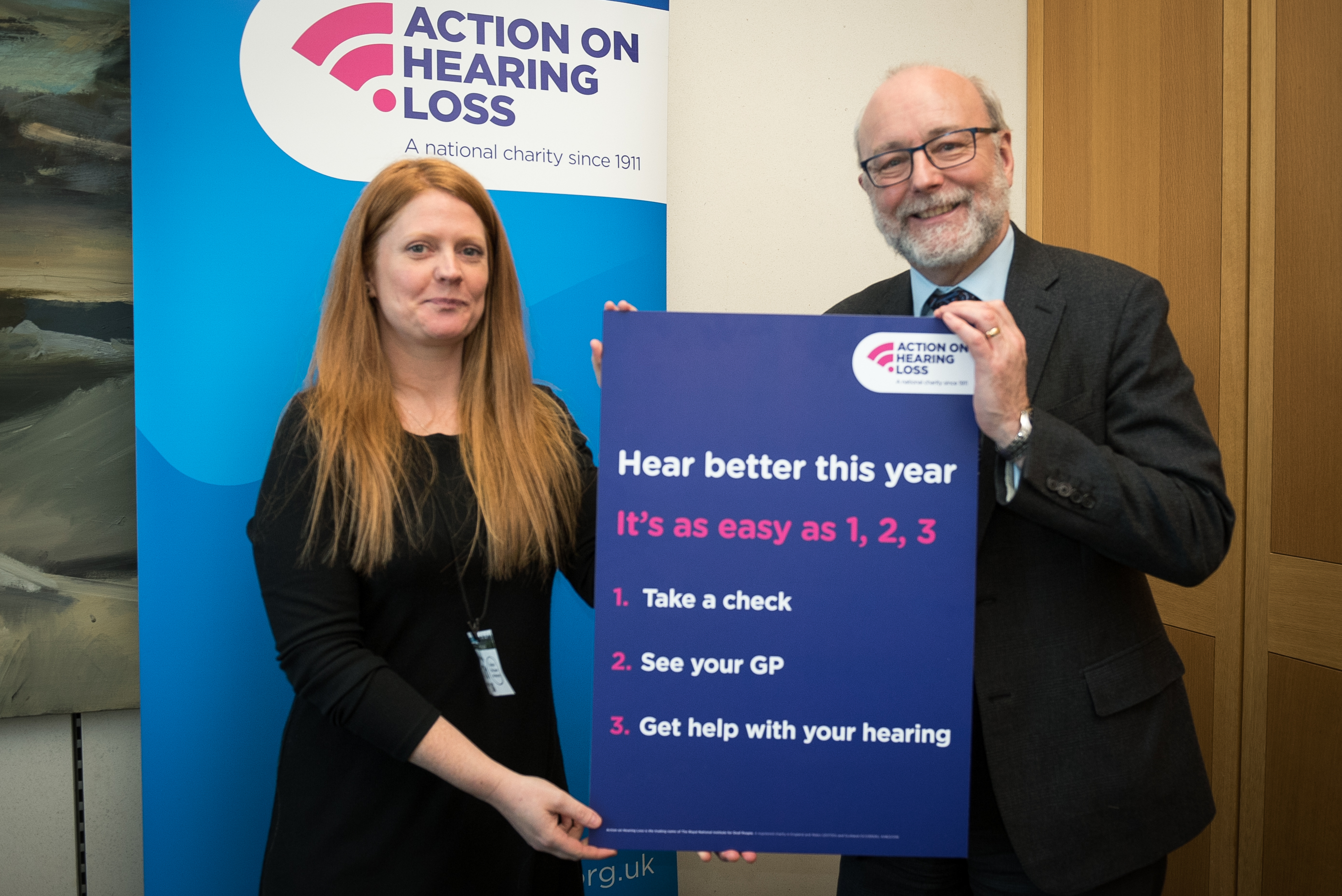 Alex supports 1,2,3 steps to increase hearing screenings
